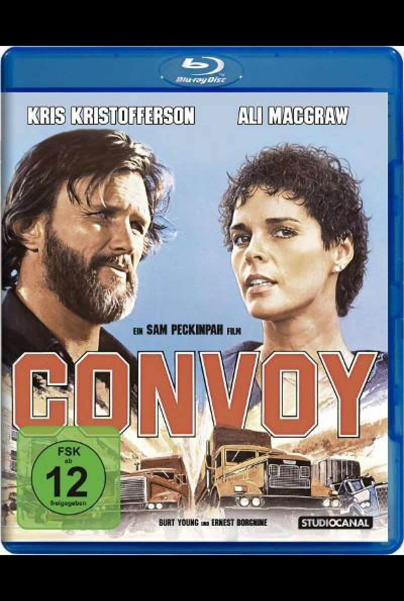 Convoy - Blu-ray Cover