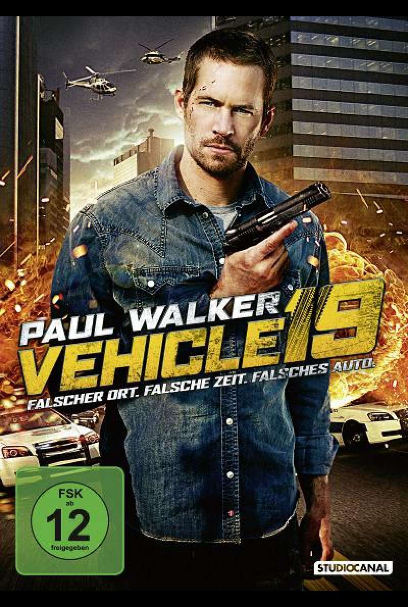 Vehicle 19 - DVD-Cover