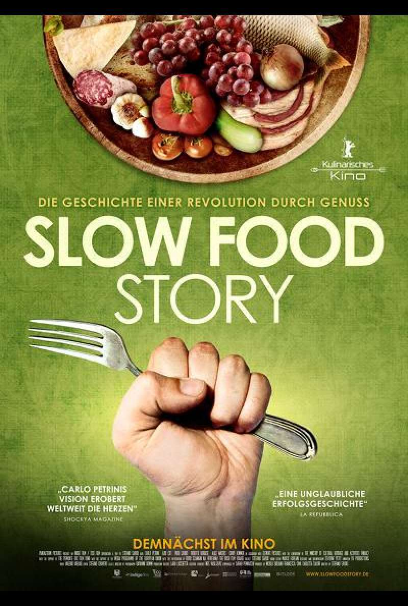 Slow Food Story - Filmplakat
