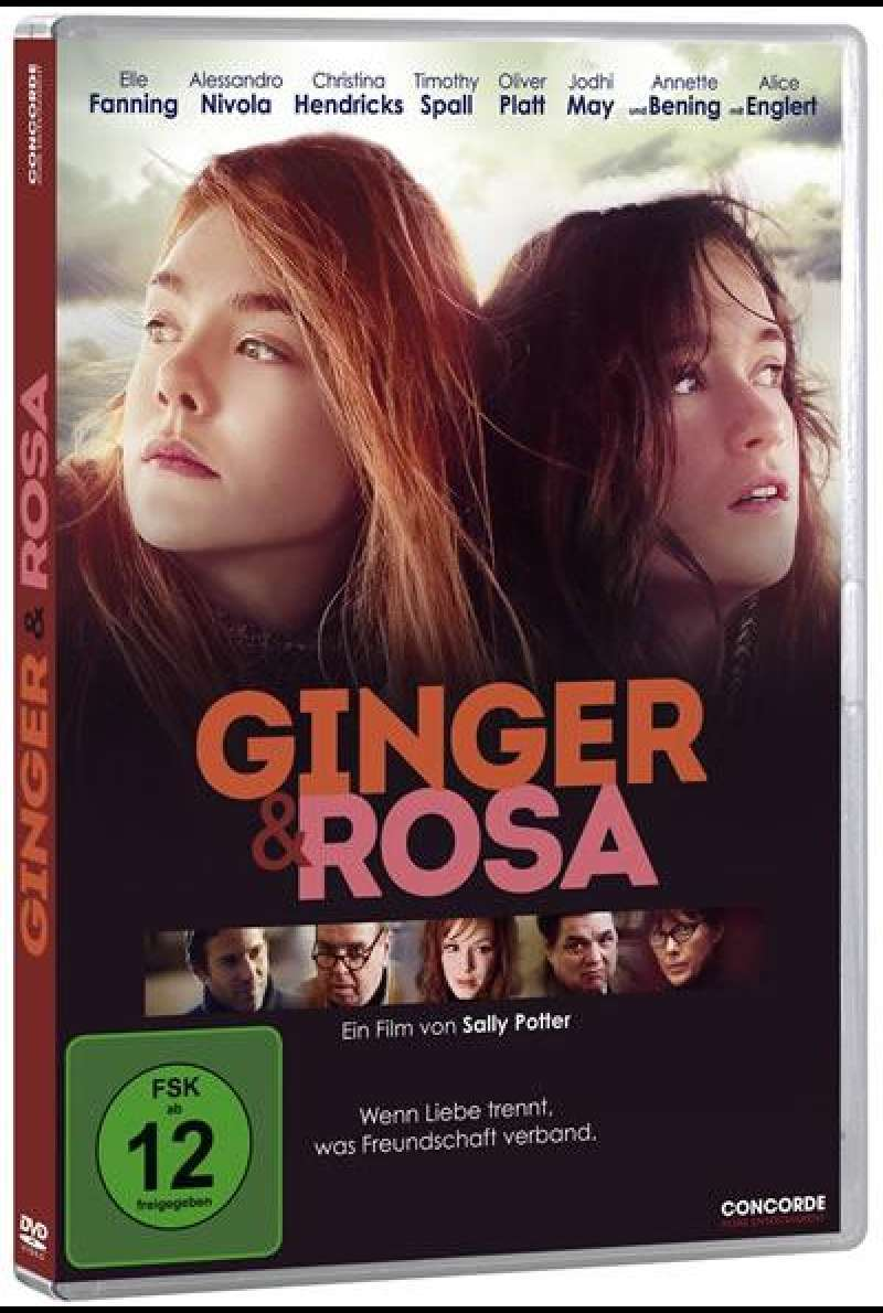 Ginger & Rosa - DVD-Cover
