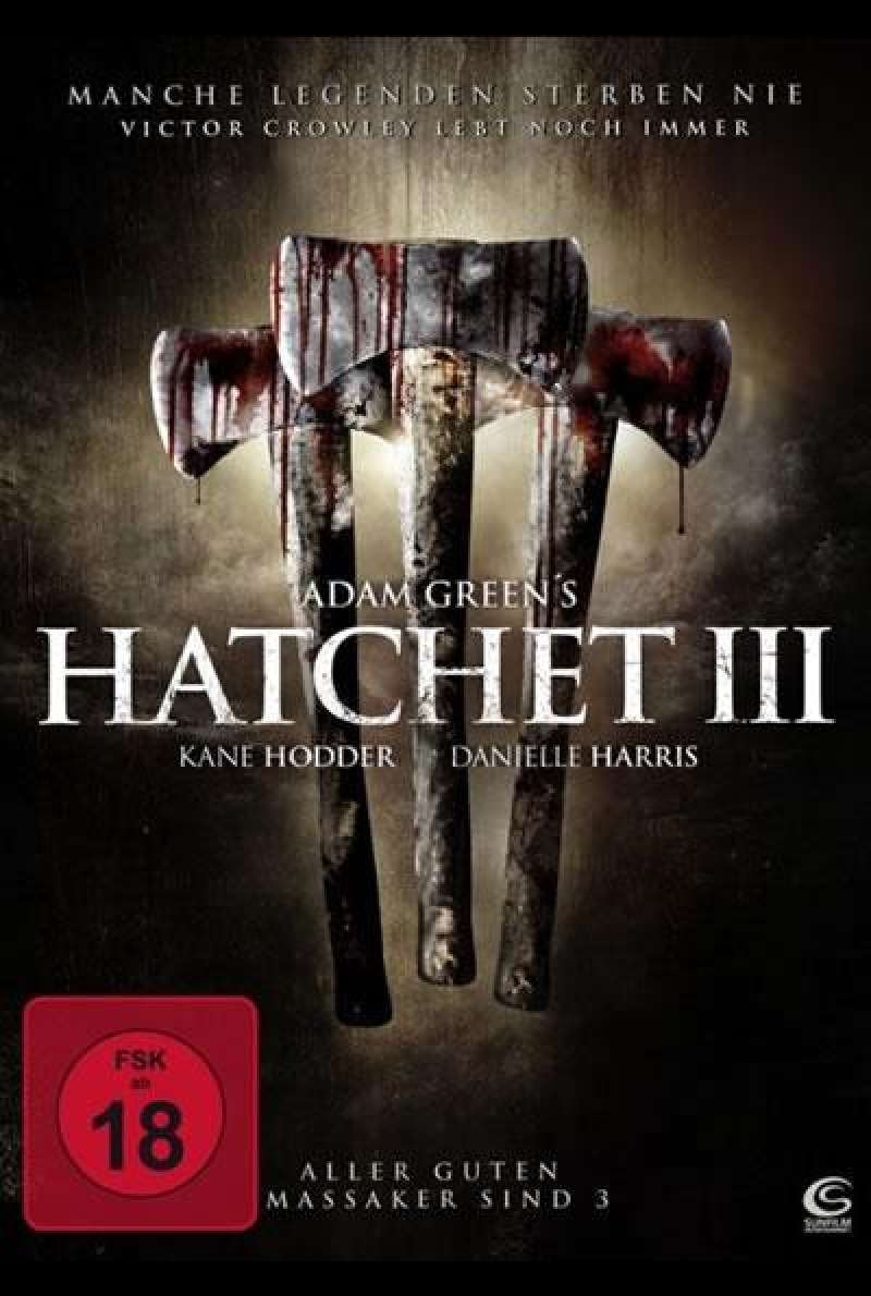 Hatchet III - DVD-Cover