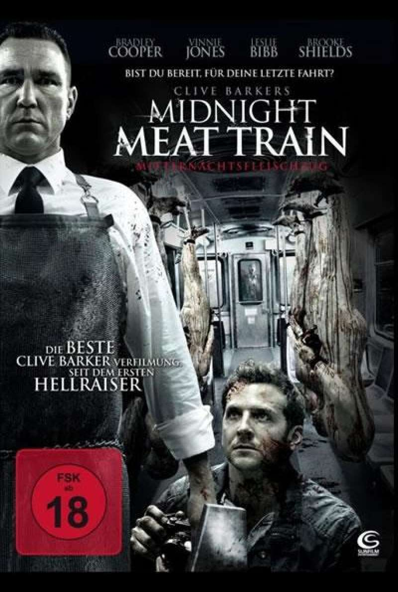 The Midnight Meat Train - DVD-Cover