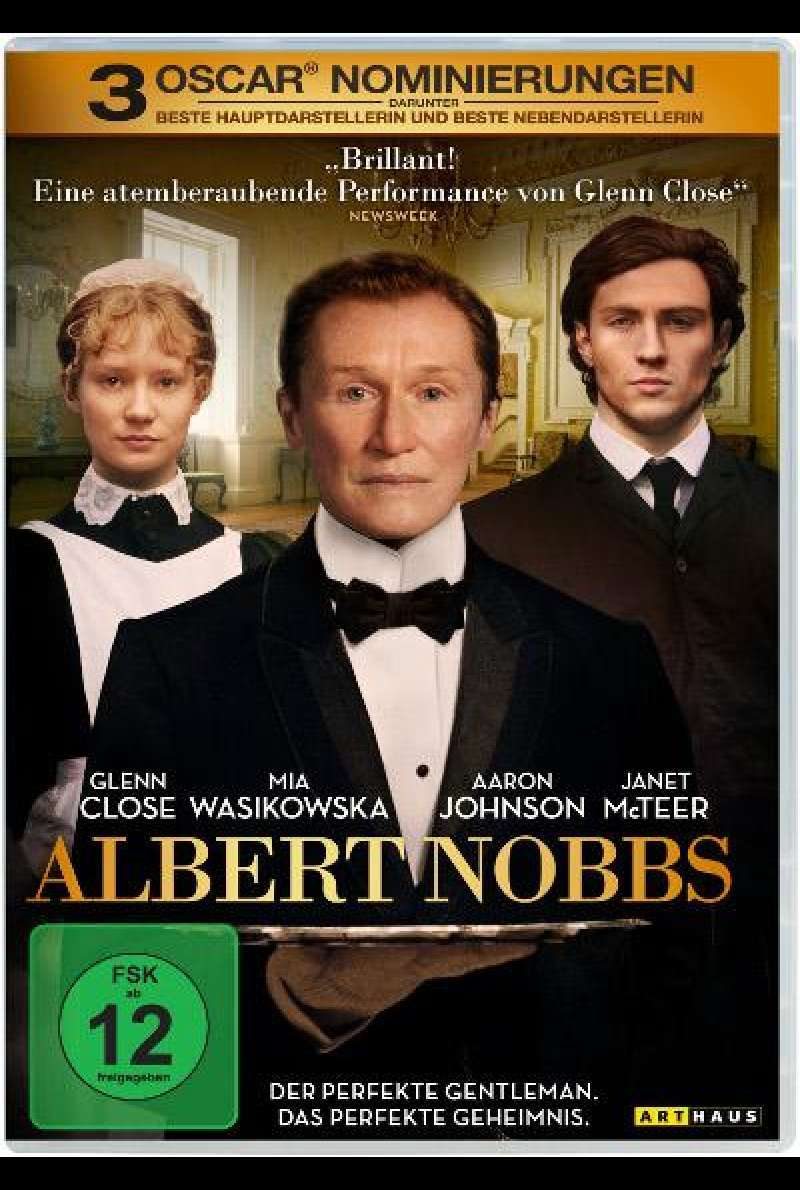 Albert Nobbs - DVD-Cover