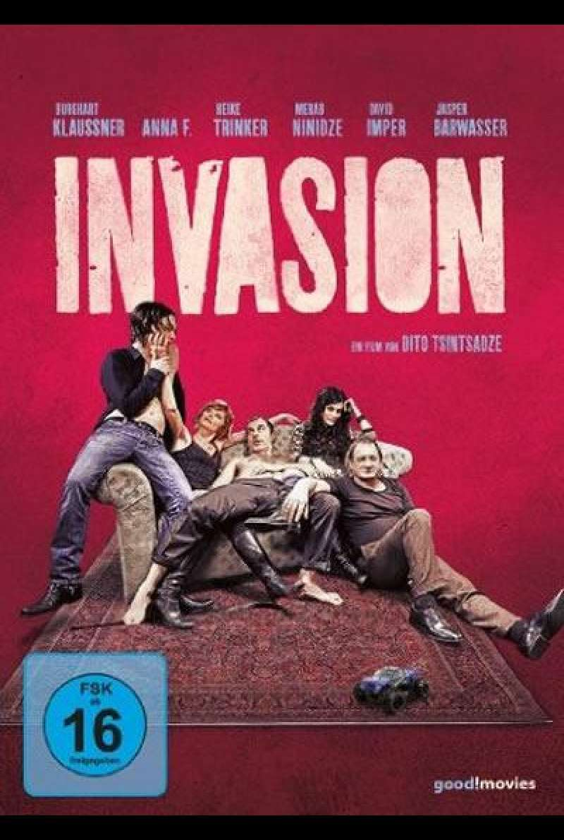 Invasion - DVD-Cover