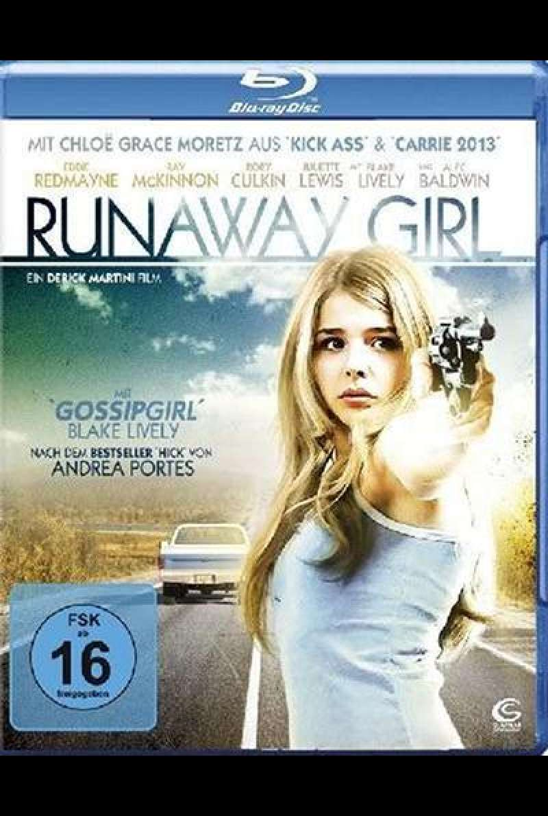 Runaway Girl - Blu-ray Cover