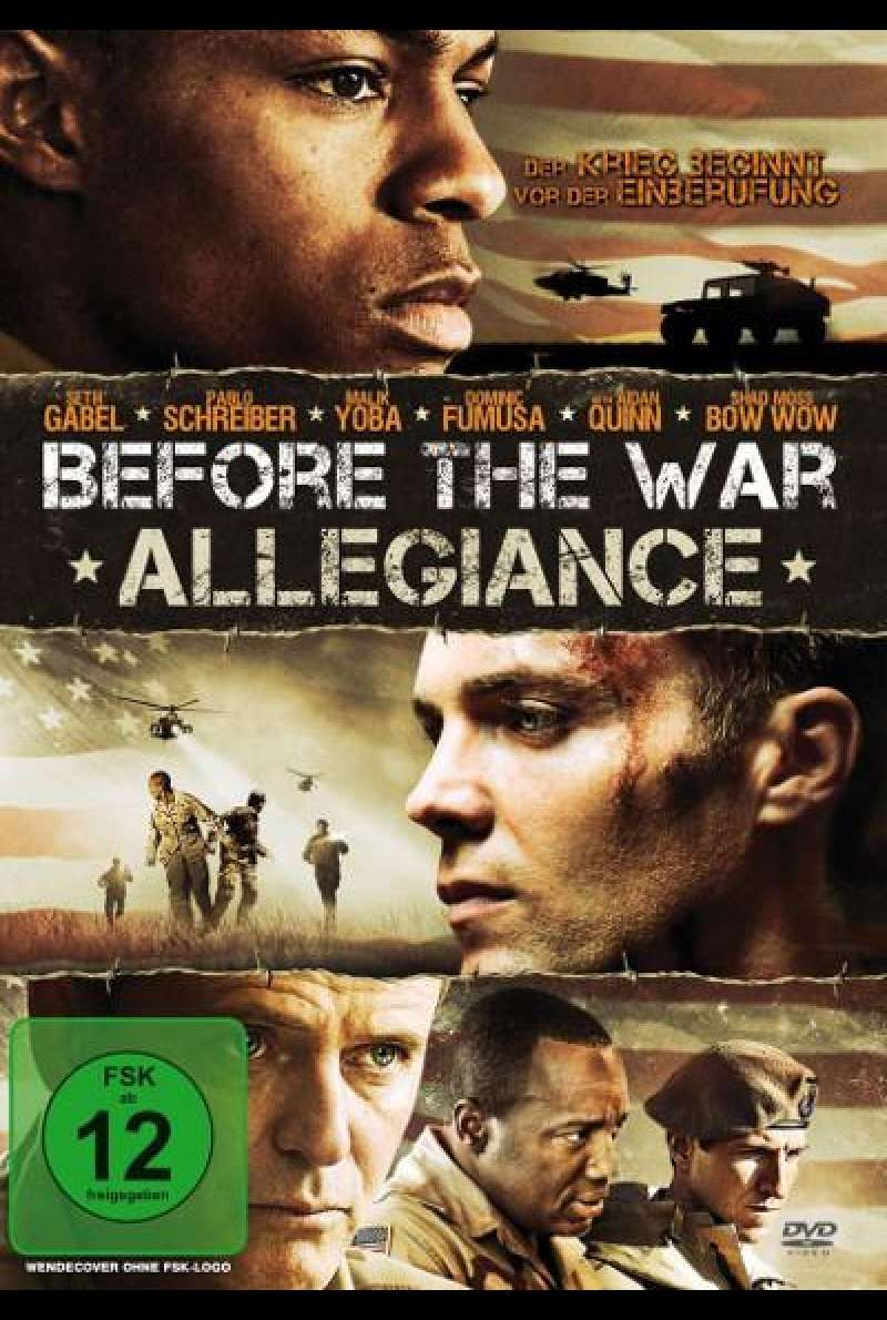 Before the War - Allegiance - DVD-Cover
