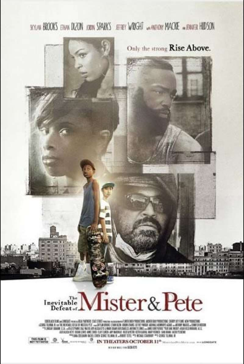 The Inevitable Defeat of Mister and Pete - Filmplakat (US)
