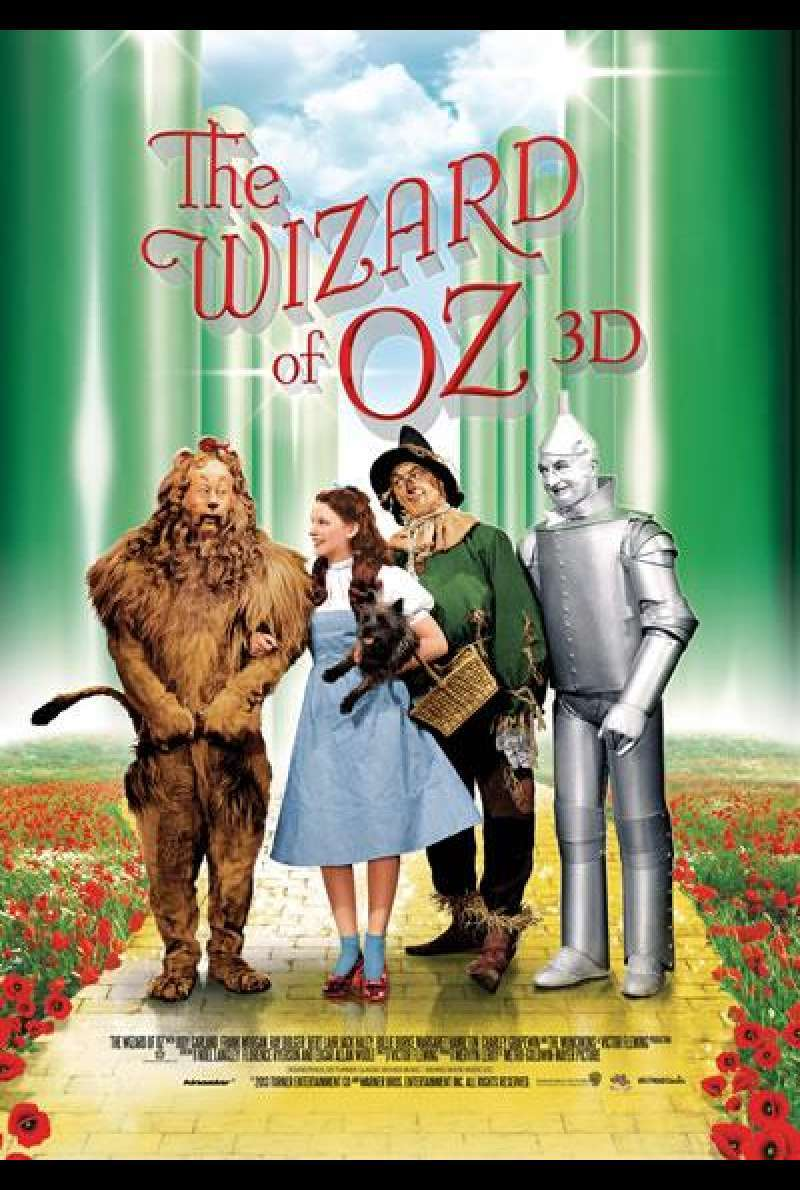The Wizard of Oz 3D - Filmplakat
