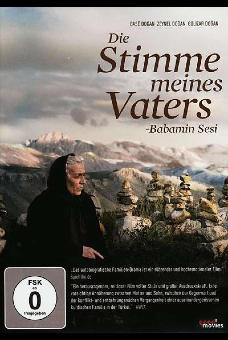 Babamin sesi - Die Stimme meines Vaters - DVD-Cover