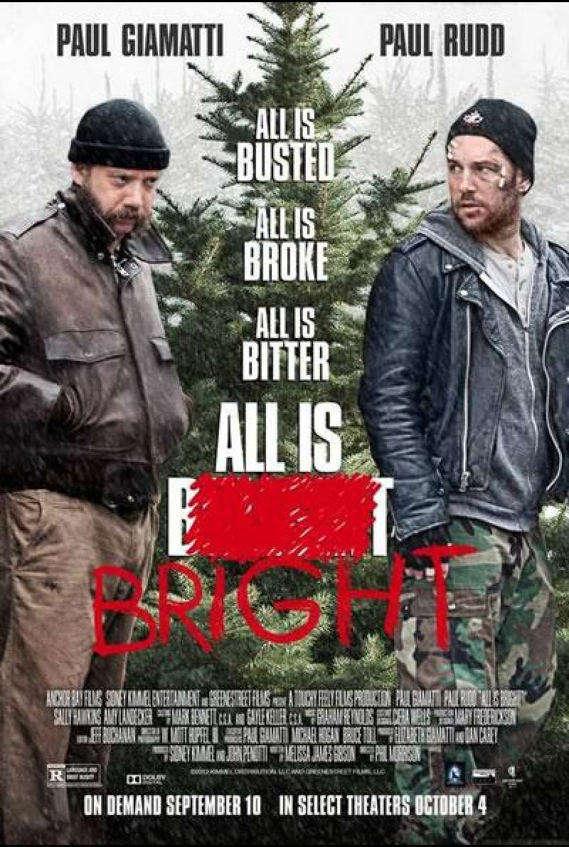 All Is Bright - Filmplakat (US)