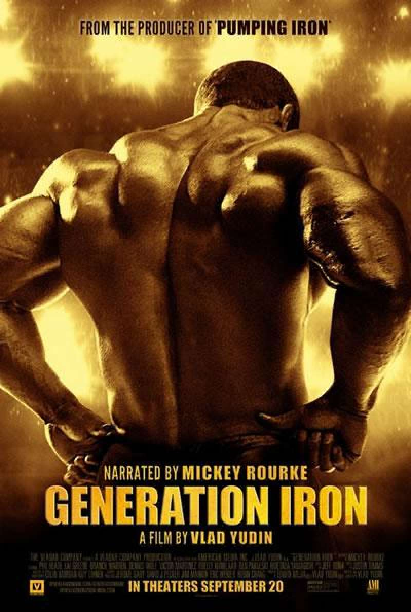 Generation Iron - Filmplakat (US)