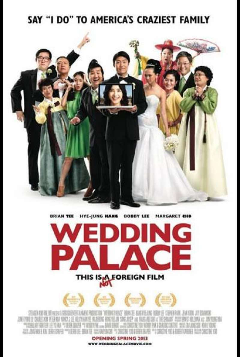 Wedding Palace - Filmplakat (US)