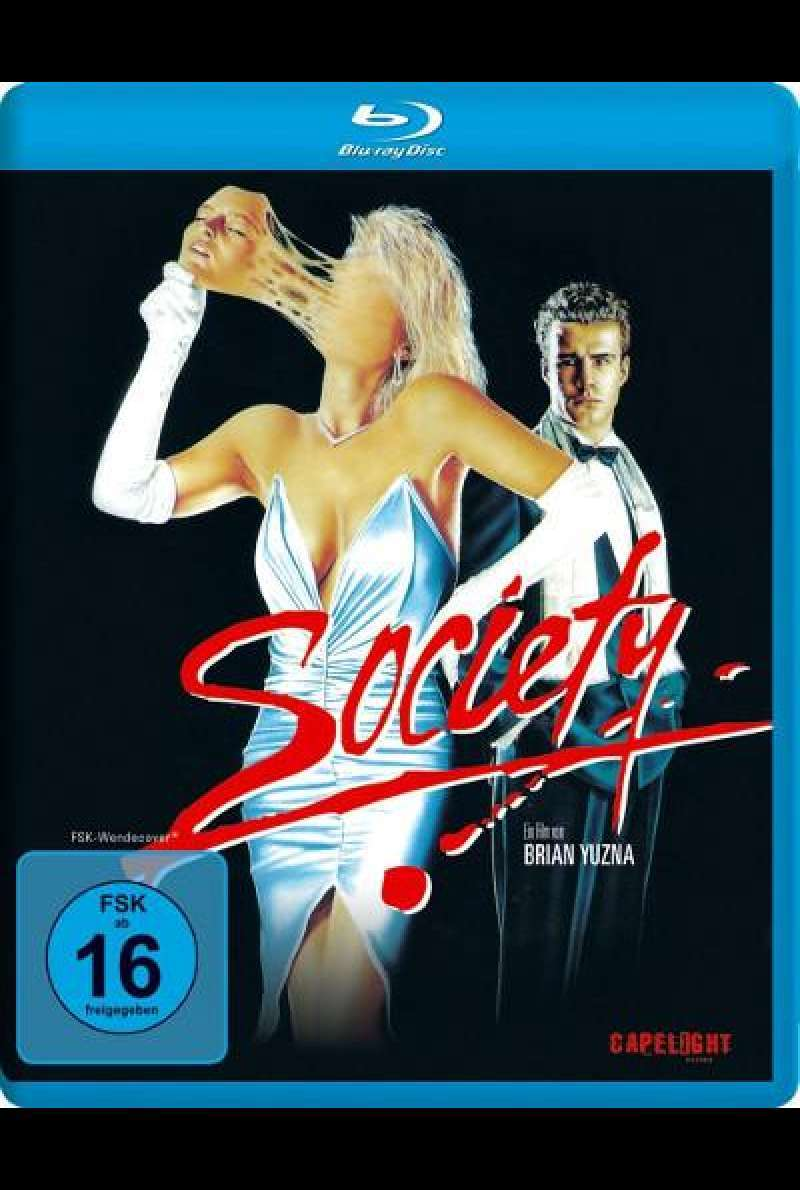 Society - BluRay-Cover