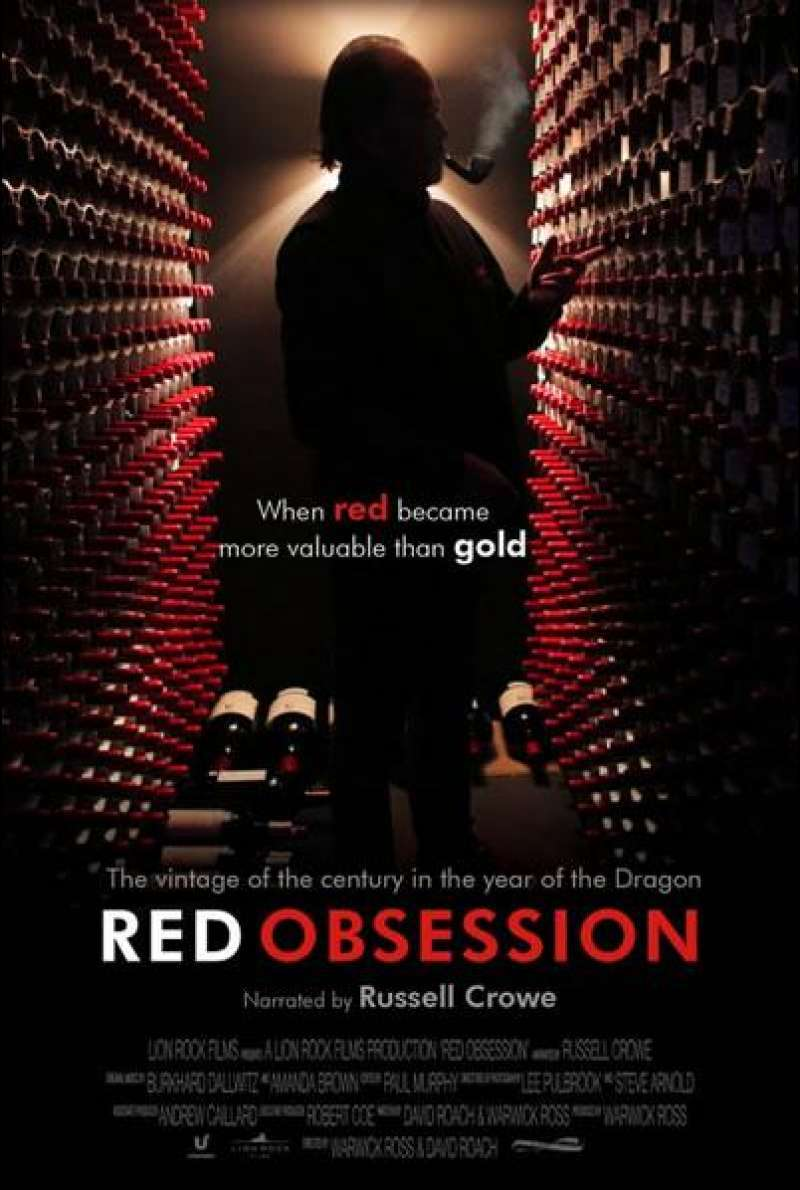 Red Obsession - Filmplakat (UK)