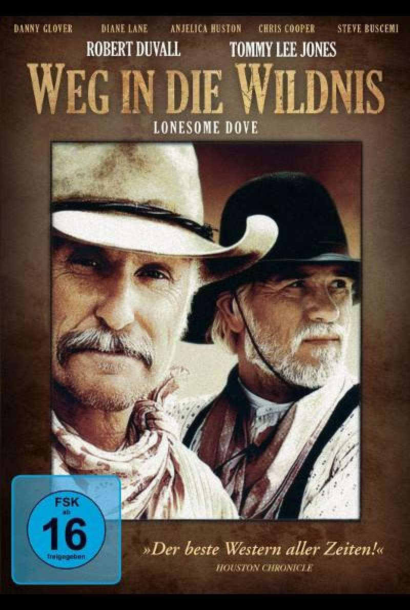 Weg in die Wildnis - DVD-Cover