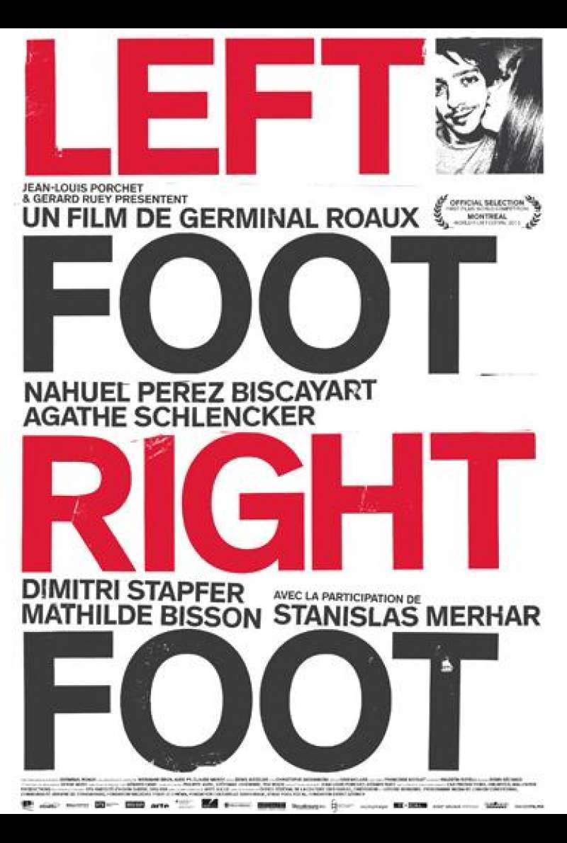 Left Foot Right Foot - Filmplakat (CH)