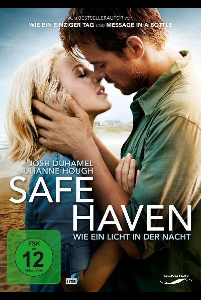 Safe Haven - Wie ein Licht in der Nacht - DVD-Cover