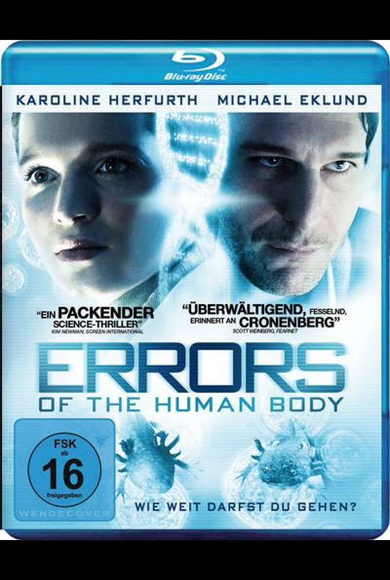 Errors of the Human Body - Blu-ray Cover