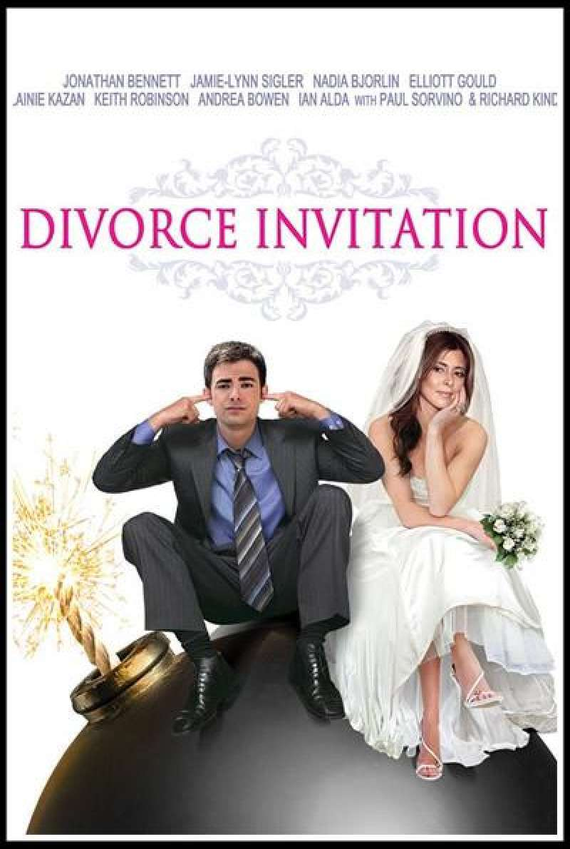 Divorce Invitation - Filmplakat (US)