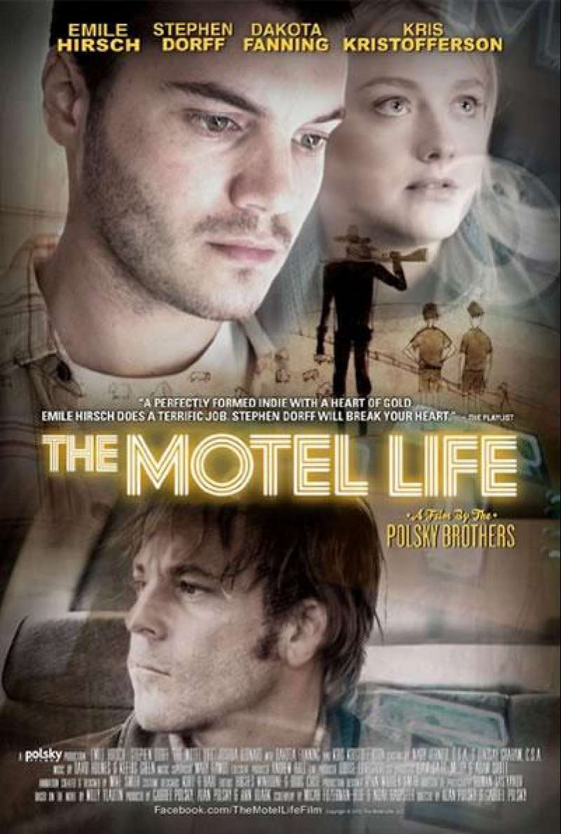 The Motel Life - Filmplakat (US)