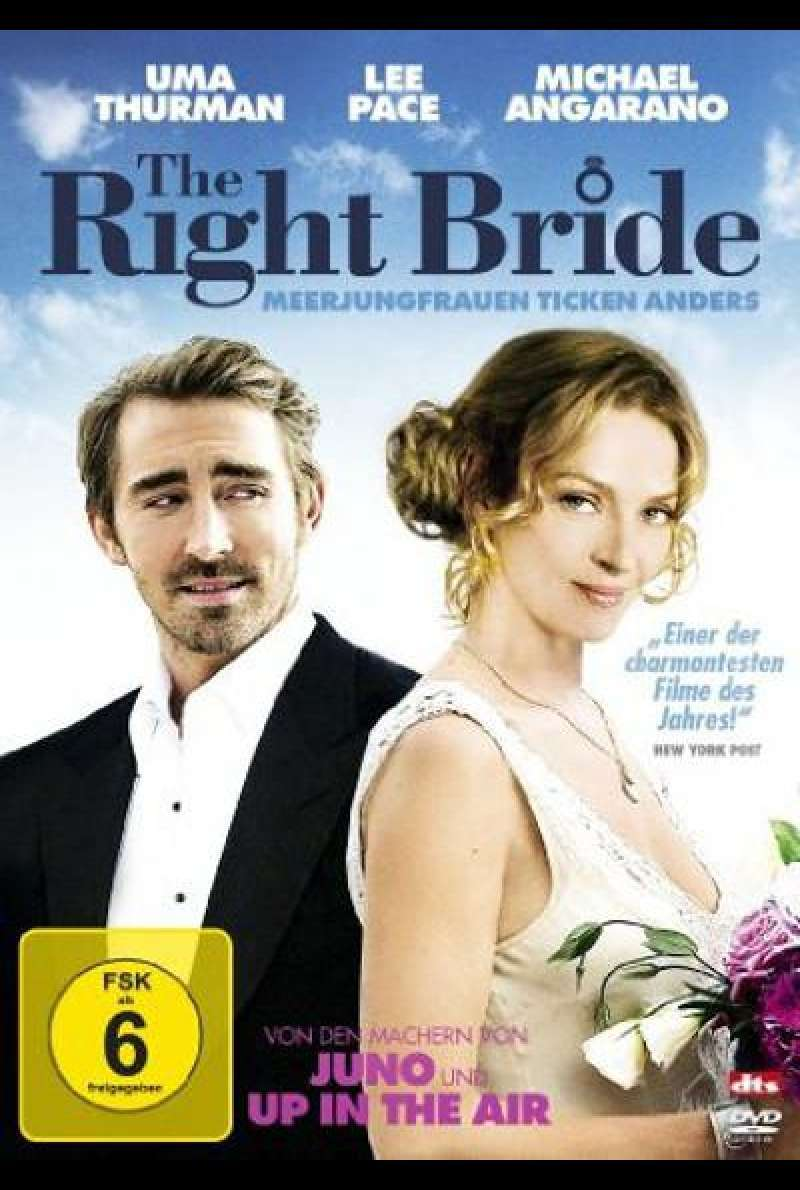 The Right Bride - Meerjungfrauen ticken anders - DVD-Cover