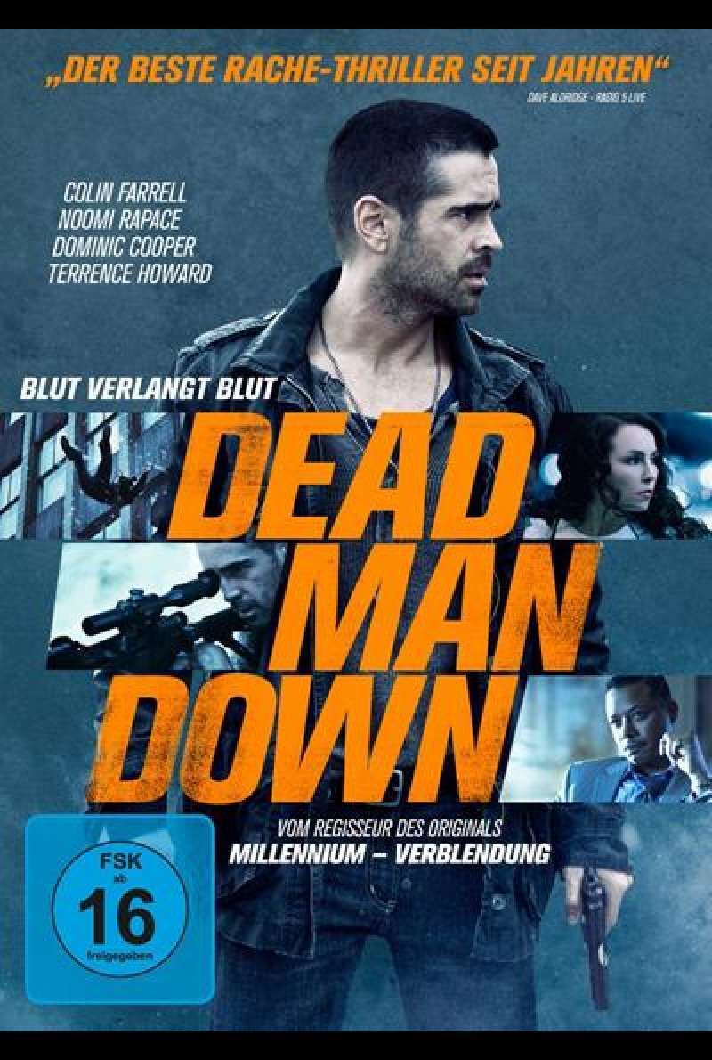 Dead Man Down - DVD-Cover