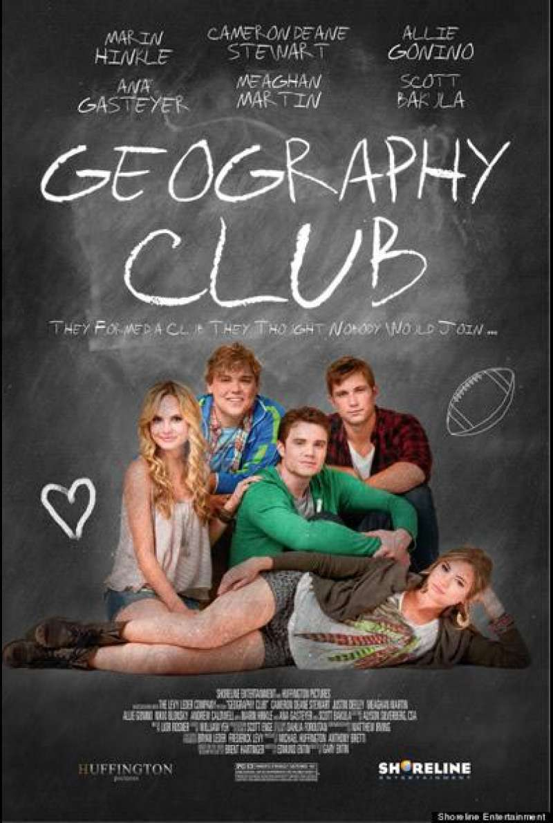 Geography Club - Filmplakat (US)