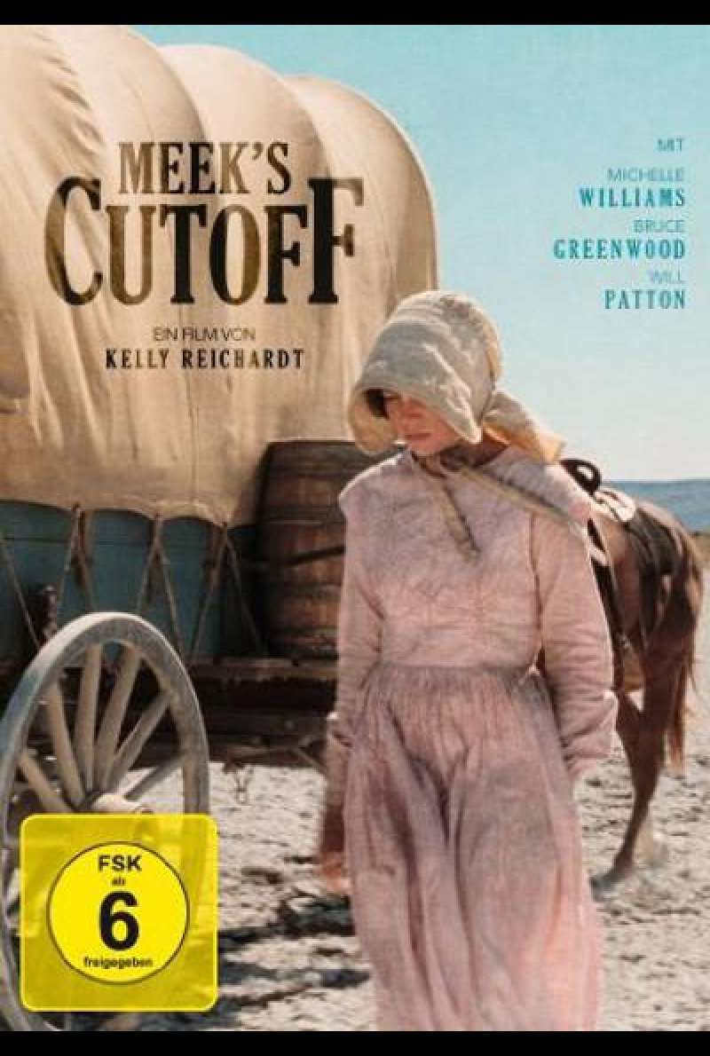 Meek's Cutoff - DVD-Cover
