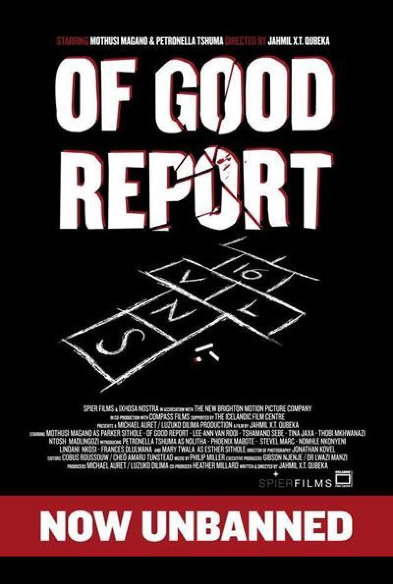 Of Good Report - Filmplakat (ZA)