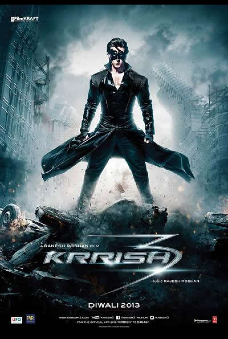 Krrish 3 - Filmplakat (IN)