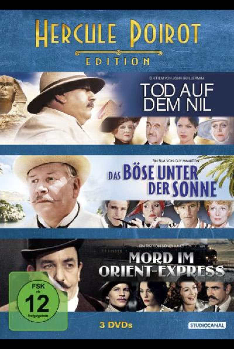 Hercule Poirot Edition - DVD-Cover
