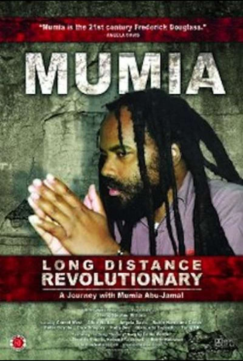 Long Distance Revolutionary: A Journey with Mumia Abu-Jamal - Filmplakat (US)