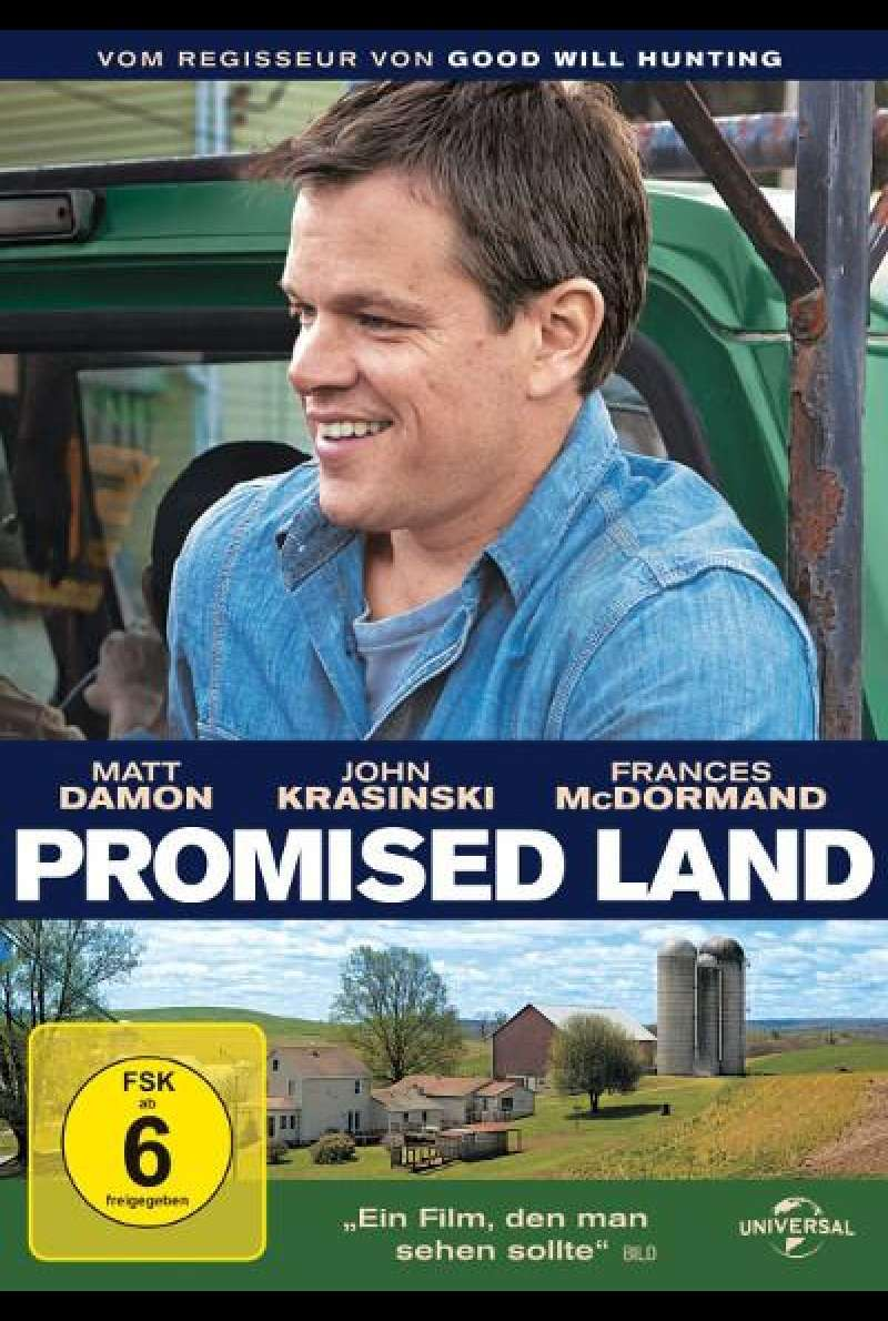 Promised Land - DVD-Cover
