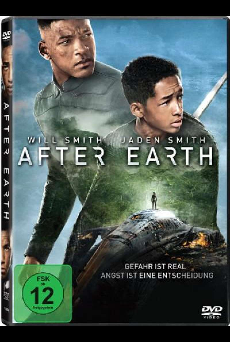 After Earth - DVD-Cover