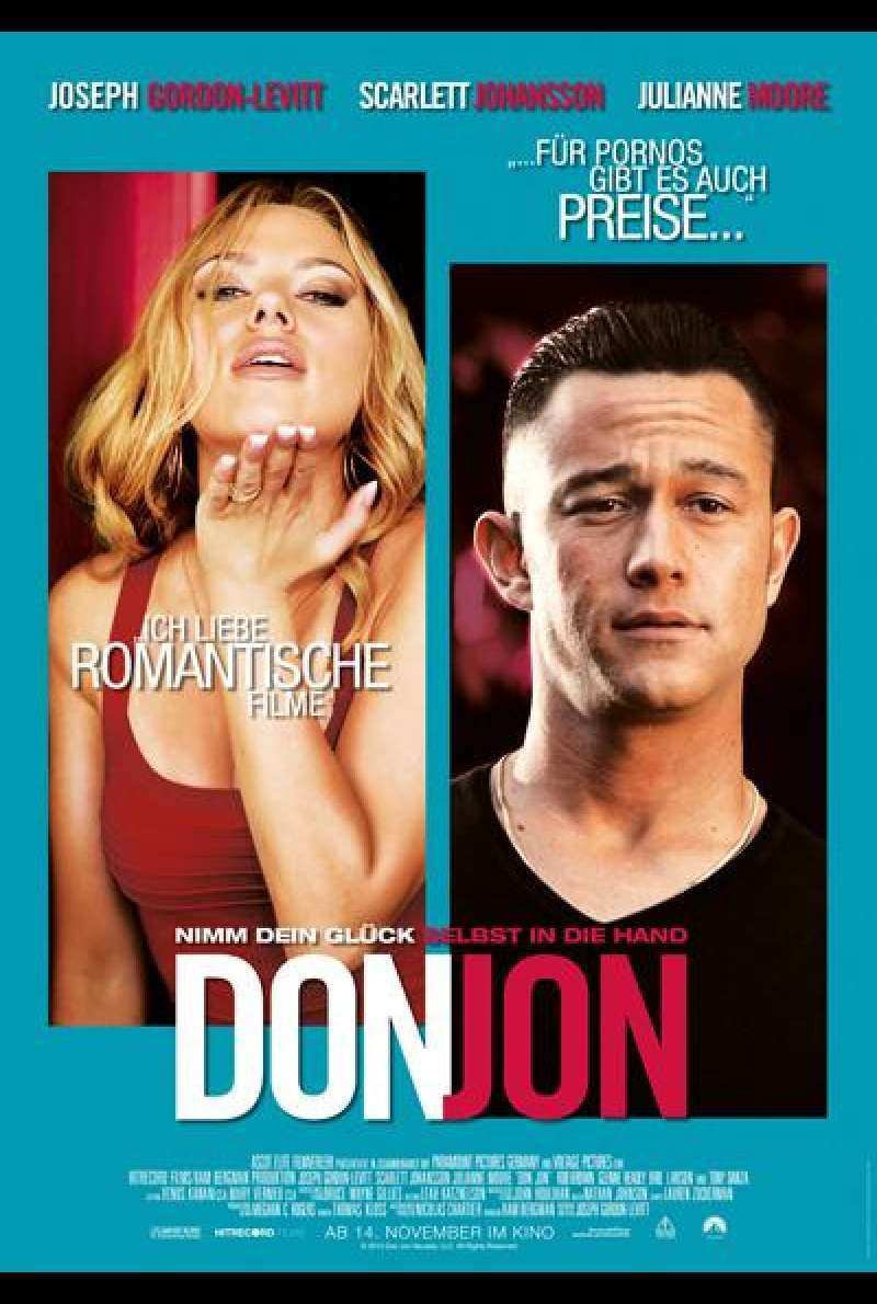 Don Jon - Filmplakat (deutsch)