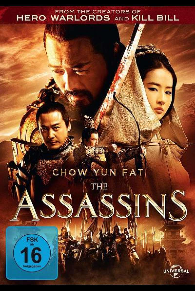 The Assassins - DVD-Cover
