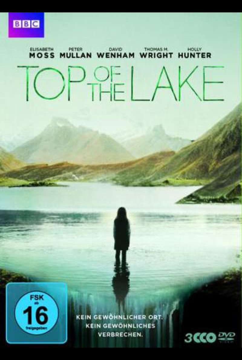 Top of the Lake - DVD-Cover