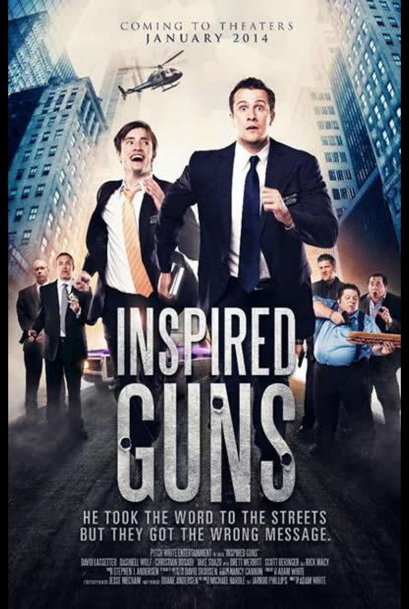 Inspired Guns - Filmplakat (US)
