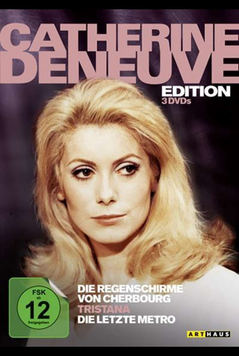 Catherine Deneuve Edition - DVD-Cover