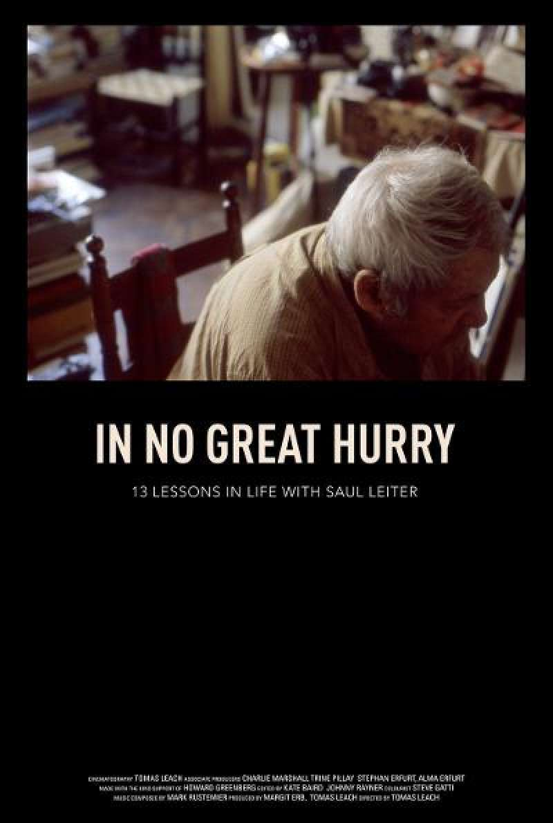 In No Great Hurry - Filmplakat (US)