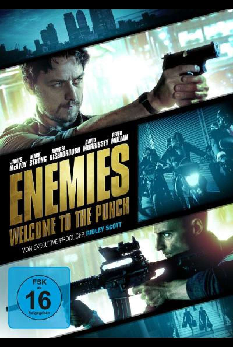 Enemies - Welcome to the Punch - DVD-Cover