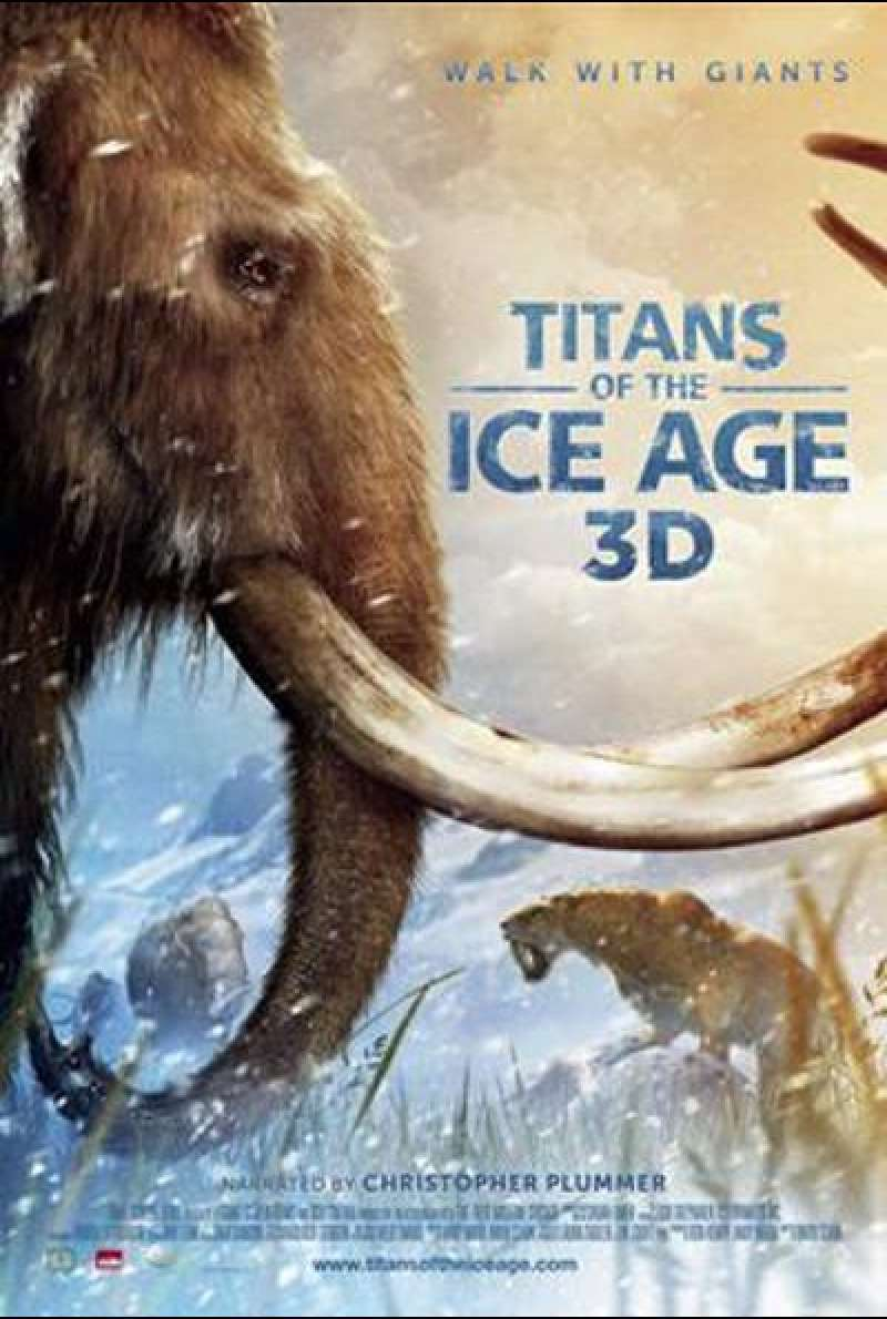 Titans of the Ice Age (3D) - Filmplakat (US)
