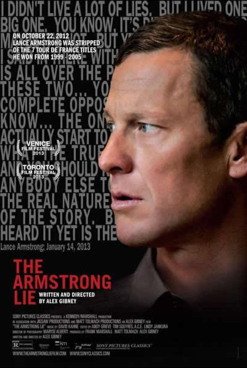 The Armstrong Lie - Filmplakat (US)