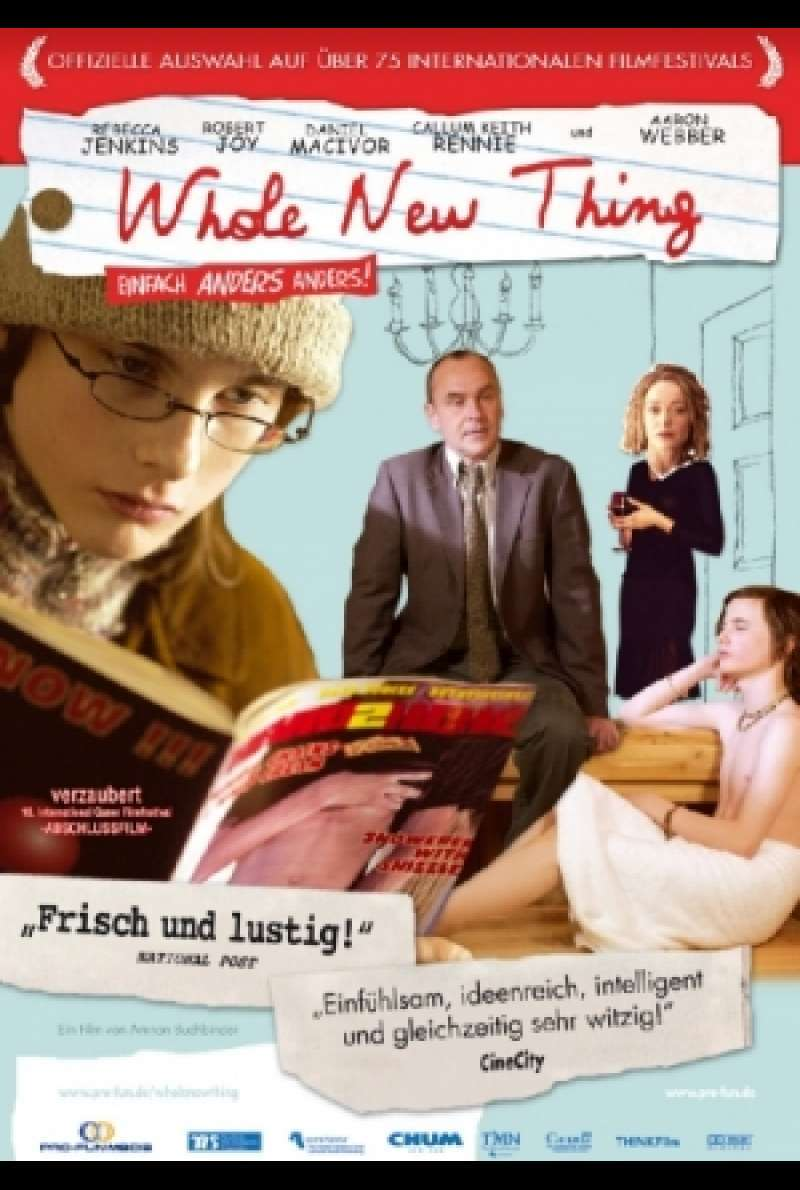 Whole New Thing - Filmplakat