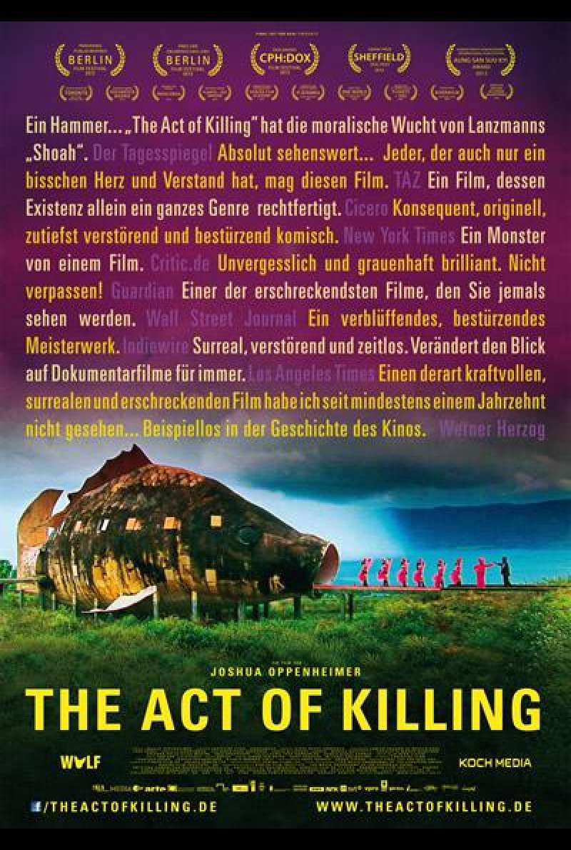 The Act of Killing - Filmplakat