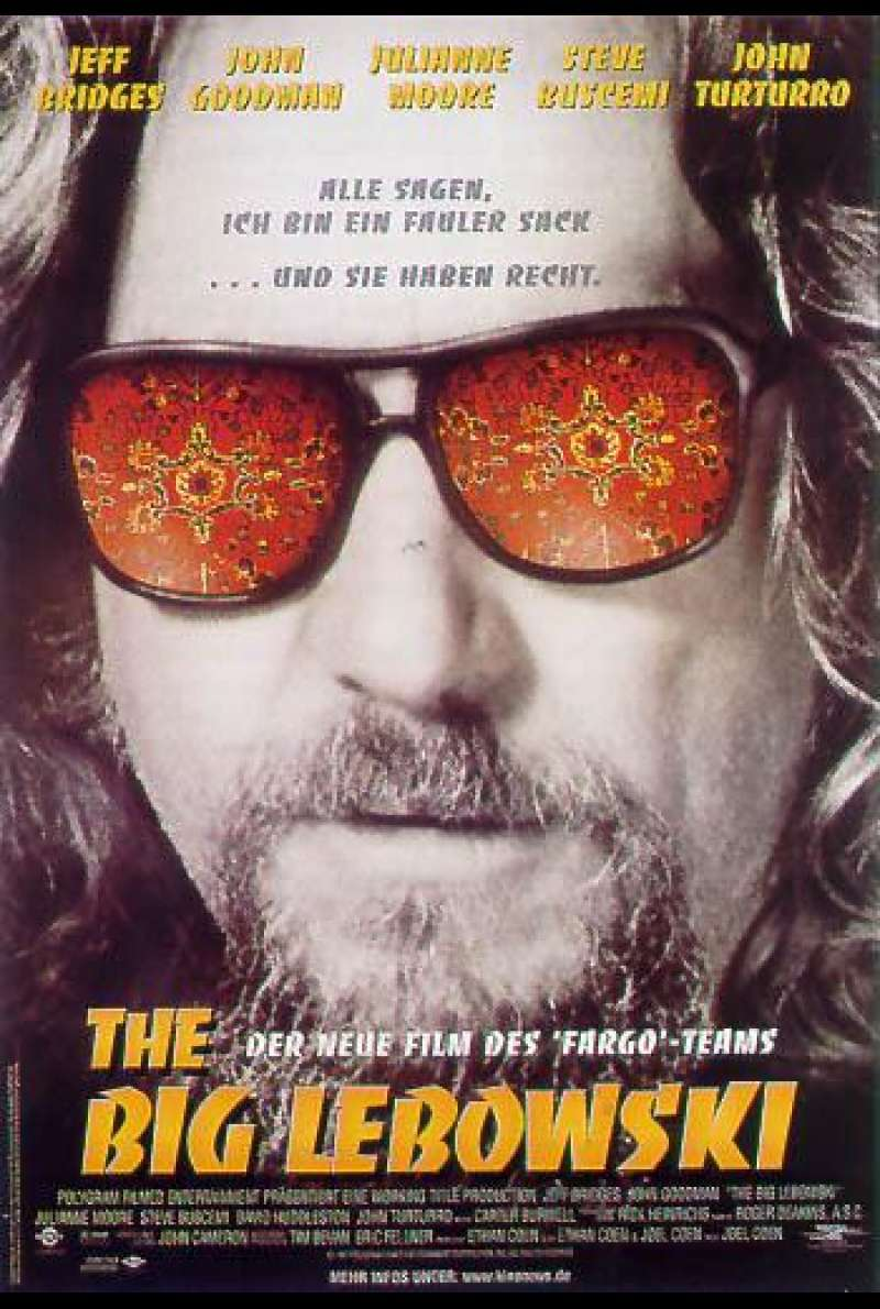 The Big Lebowski - Filmplakat
