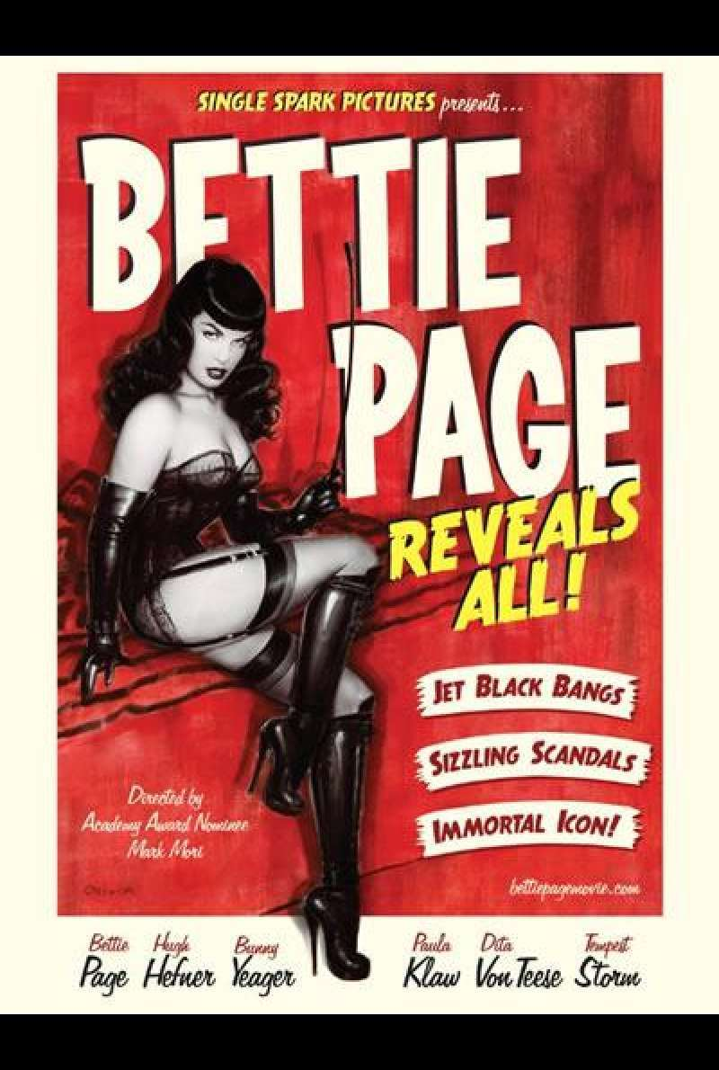 Bettie Page Reveals All - Filmplakat (US)
