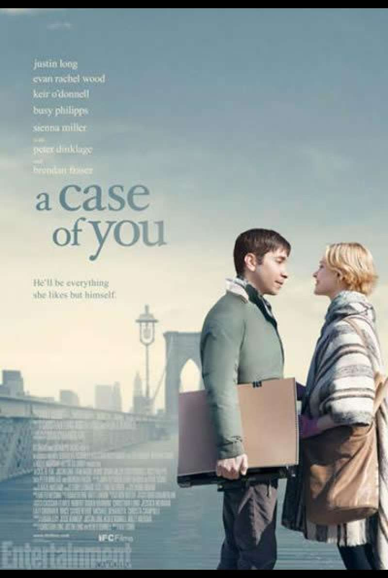 A Case of You - Filmplakat (US)