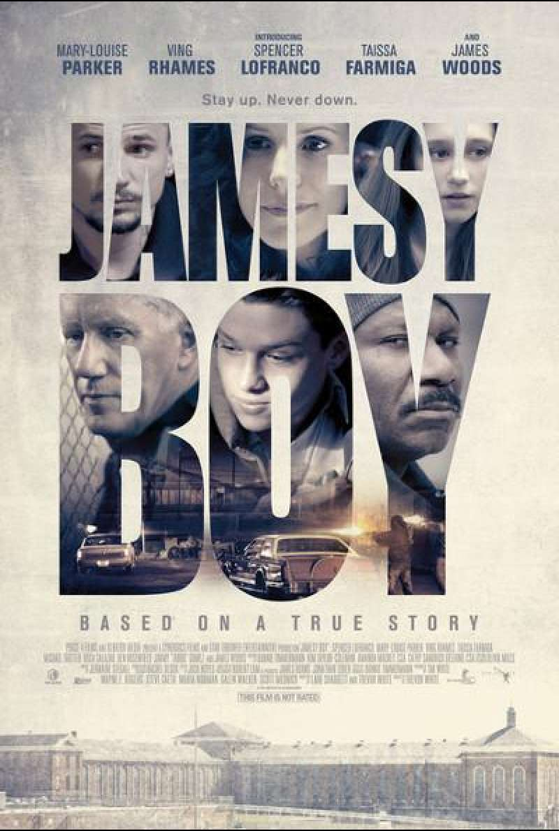 Jamesy Boy - Filmplakat (US)
