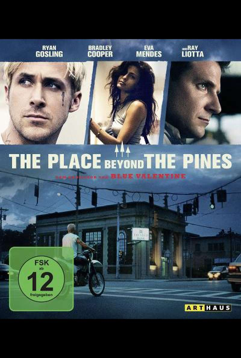 The Place Beyond the Pines - Blu-ray Cover
